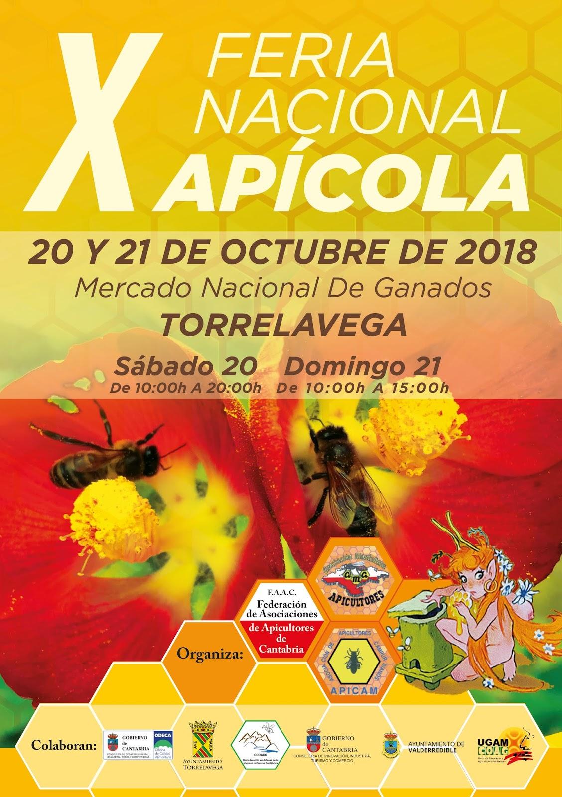 X FERIA NACIONAL APÍCOLA (Torrelavega, Cantabria)