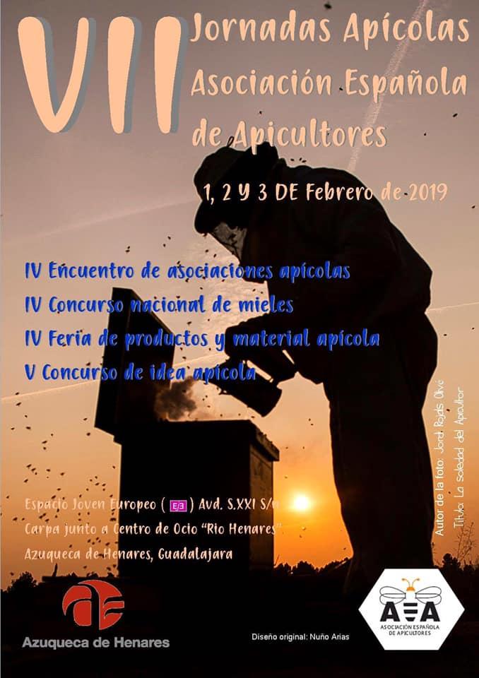 VII JORNADAS APÍCOLAS ASOCIACIÓN ESPAÑOLA DE APICULTORES. Azuqueca de Henares (Guadalajara)