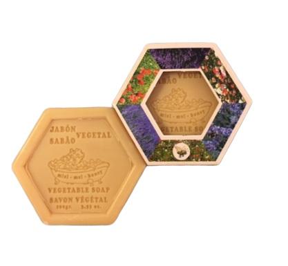 Jabón Hexagonal Miel