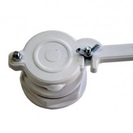 "Grifo Válvula Plástico 2"" Ø50mm"