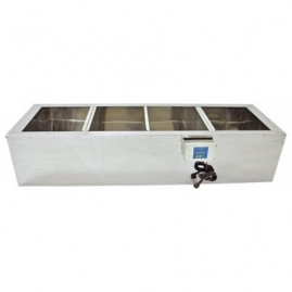 Banco de decantación 1500mm Calefactado