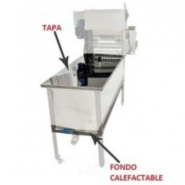 Tapa + Fondo Calefactable Desoperculadora
