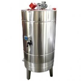 Depósito 2000L Calefactable Con Mezclador, Tapa y Soporte