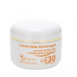 Crema Solar Antiarrugas FPS 30